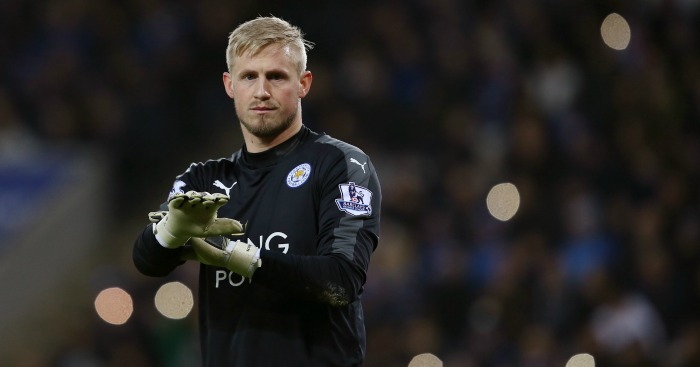 Kasper Schmeichel: Injured