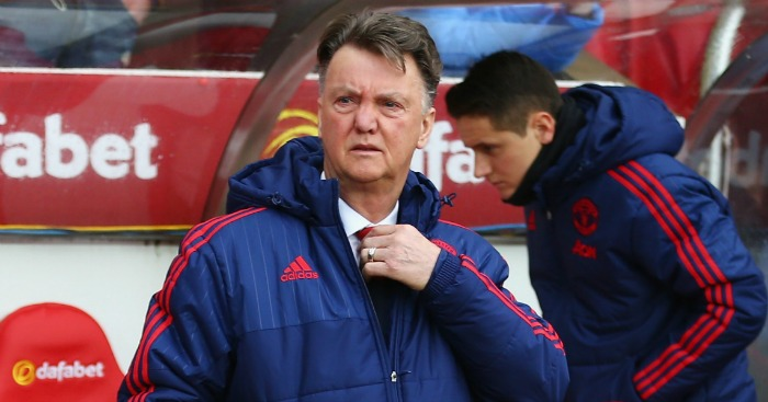 Louis van Gaal: Insists Man Utd were never title challengers