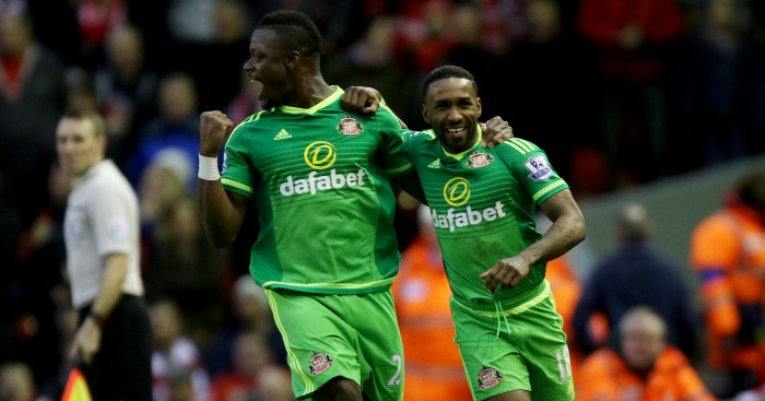 Jermain Defoe (right): Sunderland striker inspired by Leicester City