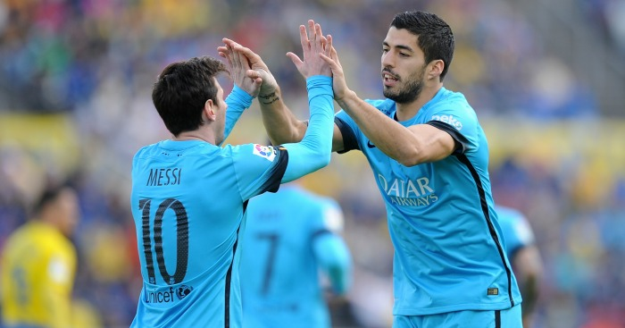 Luis Suarez: Barcelona forward faces Arsenal on Tuesday
