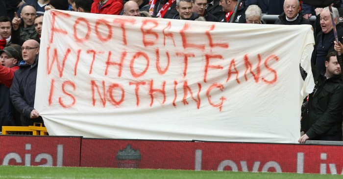 Liverpool fans: Staged protest against Sunderland