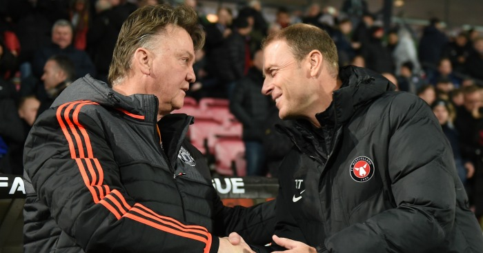 Jess Thorup: Laughed about Louis van Gaal's 'horny' comment