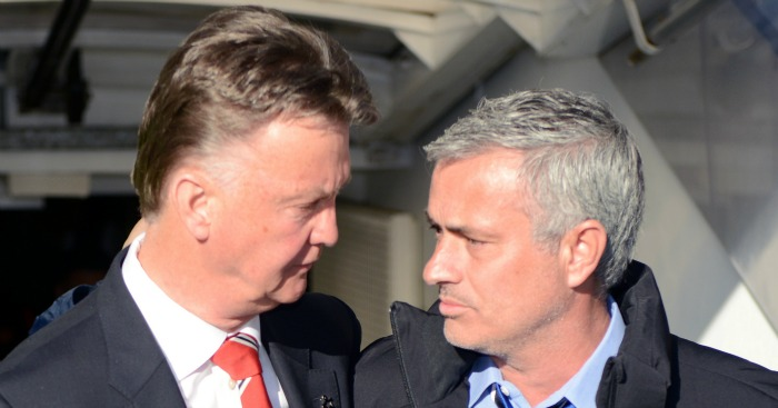 Louis van Gaal: Upset by ongoing Jose Mourinho talk