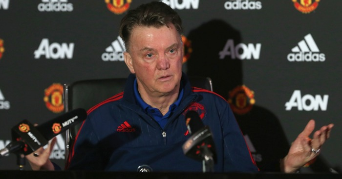Louis van Gaal: Preparing side for clash with Arsenal