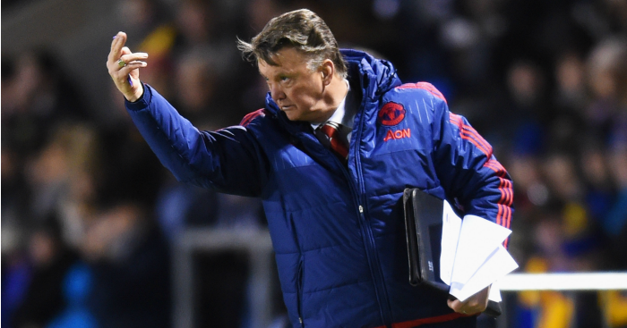 "Louis van Gaal: Manager ""satisfied"" by United performance"