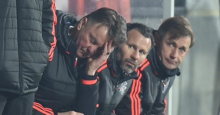 Louis van Gaal: Manager's days on Manchester look numbered