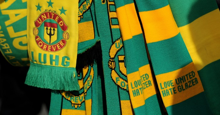 Man United Glazers protest: Green and gold