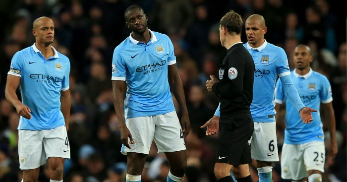 Manchester City: Complain to Mark Clattenburg about penalty