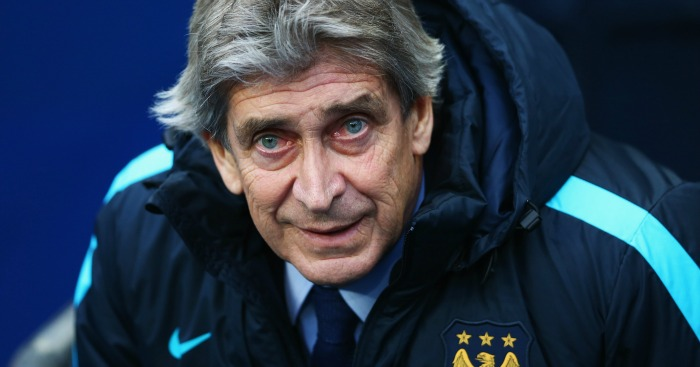 Manuel Pellegrini: His men face PSG