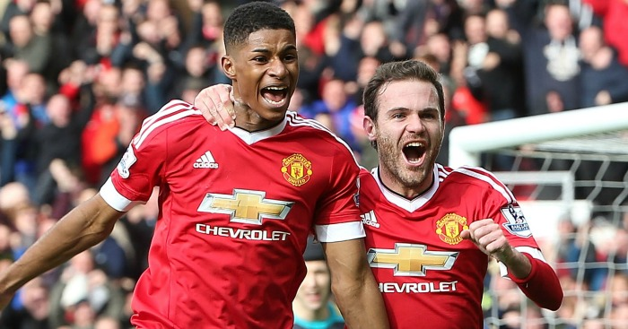 Rashford & Mata: Both included in Man Utd's touring party