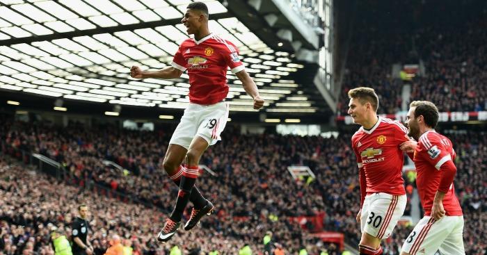 Marcus Rashford Manchester United v Arsenal