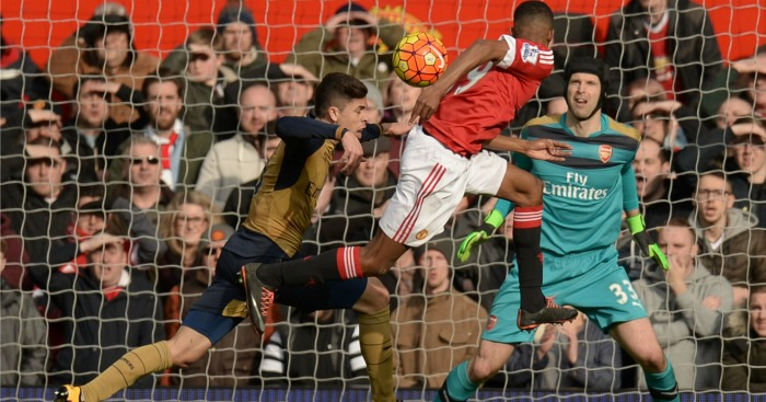 Marcus Rashford: Nods in his fourth goal in two games