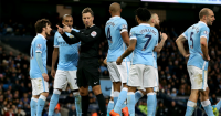 Mark Clattenburg: Awarded Tottenham controversial penalty against Manchester City
