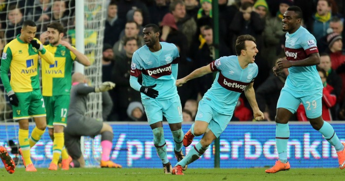 Mark Noble: Helped West Ham draw but wanted win