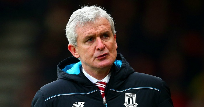Mark Hughes: Frustrated by Stoke City's season