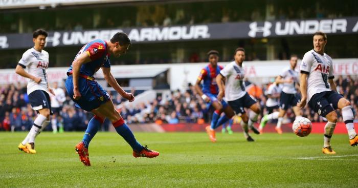 Martin Kelly scores Crystal Palace Tottenham