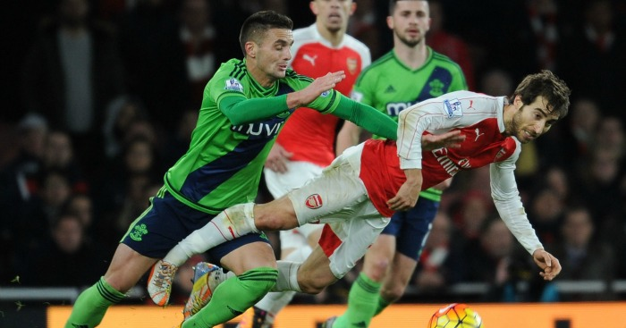Mathieu Flamini: Midfielder part of Arsenal struggles