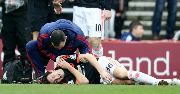 Matteo Darmian: Suffered dislocated shoulder at Sunderland