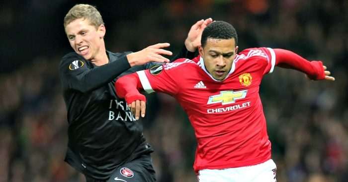 Memphis Depay: Star of the show for Man United