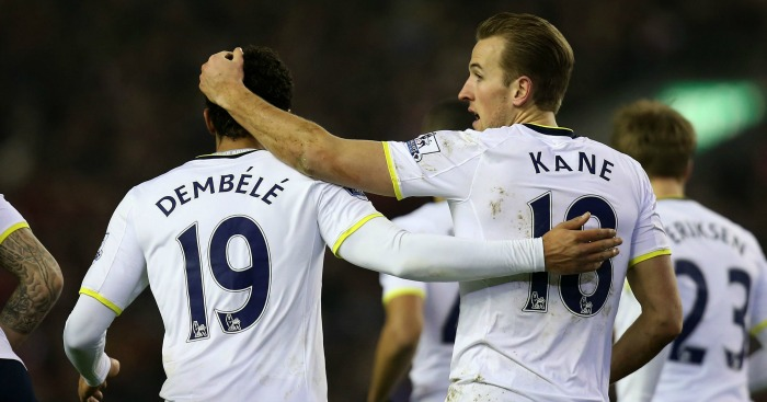 Mousa Dembele & Harry Kane: Won't face Italians