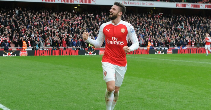 Olivier Giroud: Striker has bagged 12 league goals this term