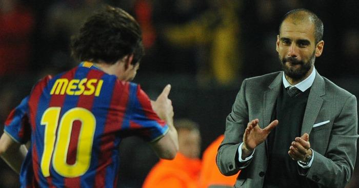Pep Guardiola: During his Barcelona days