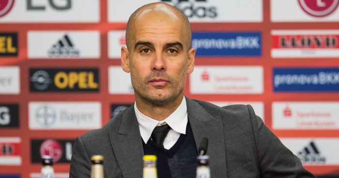 Pep Guardiola: New City boss
