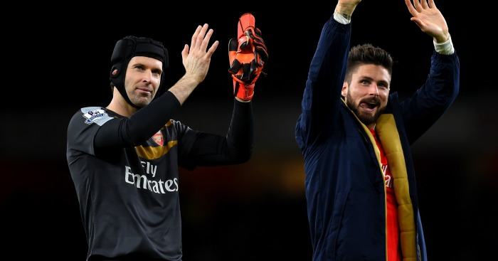 Petr Cech: Has an able 'deputy' in Olivier Giroud