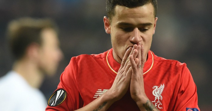 Philippe Coutinho: Not aware of any interest