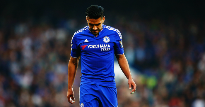 Radamel Falcao: Striker left out of Colombba squad