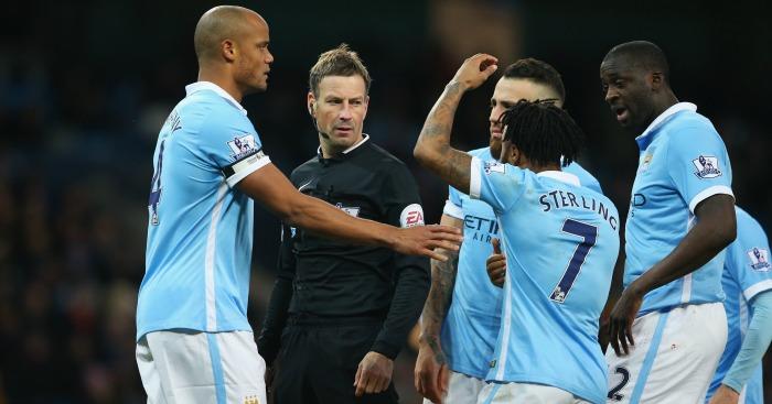 Raheem Sterling Manchester City complain Mark Clattenburg