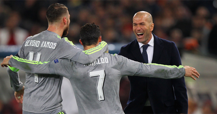 Real Madrid: In control of Champions League clash