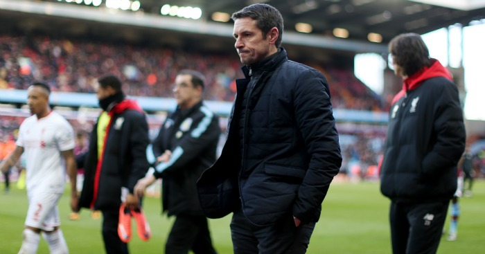 Remi Garde: Humiliated by Aston Villa's defeat to Liverpool