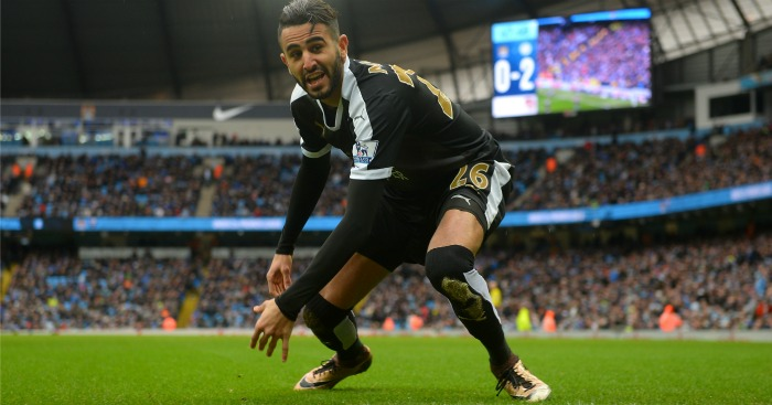 Riyad Mahrez: Taking transfer talk in his stride