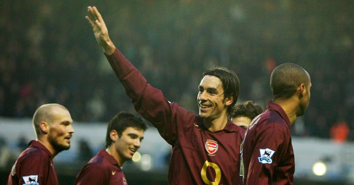 Robert Pires: Midfielder made 284 appearances for Arsenal