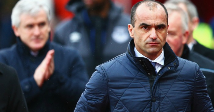 Roberto Martinez: Could be sacked as Everton manager this week
