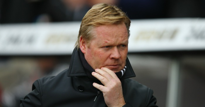 Ronald Koeman: Hailed his men