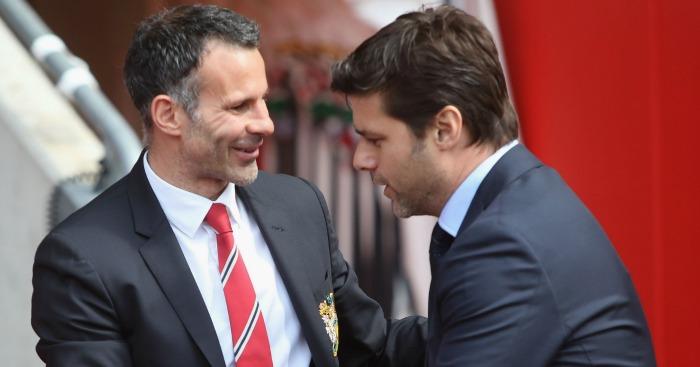 Ryan Giggs Mauricio Pochettino Manchester United