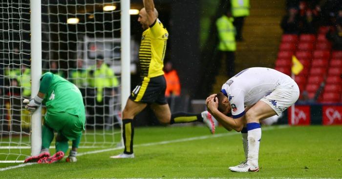Scott Wootton Watford v Leeds own goal