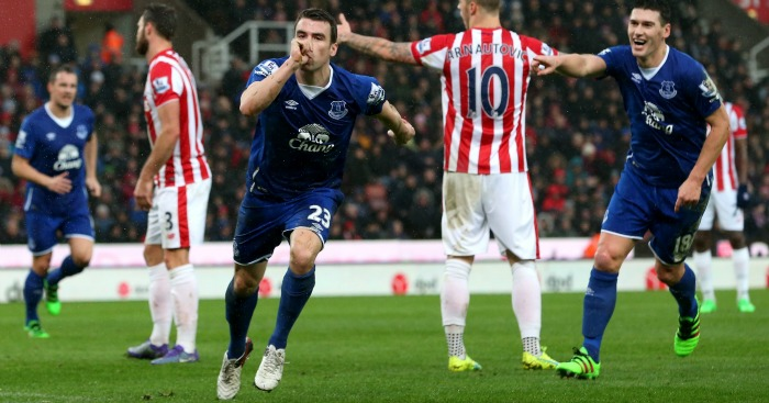 Seamus Coleman Stoke v Everton