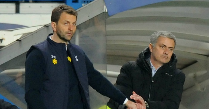 Tim Sherwood: Manager backed ahead of Mourinho