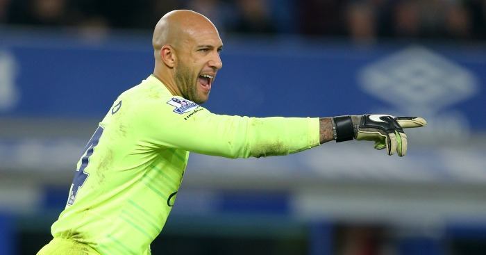 Tim Howard: Set to make final appearance for Everton