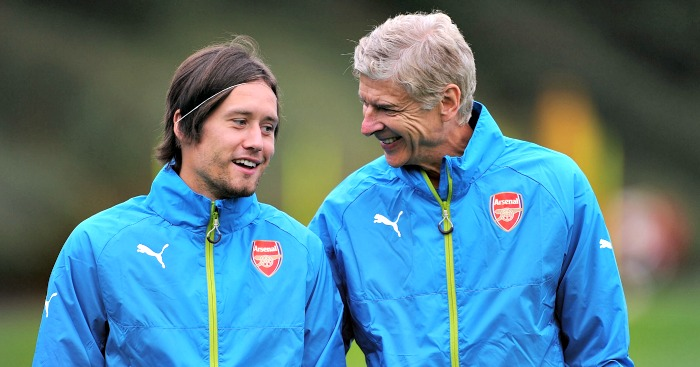 Tomas Rosicky: Arsene Wenger left bewildered by new setback