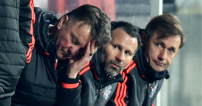 Louis Van Gaal Must leave United