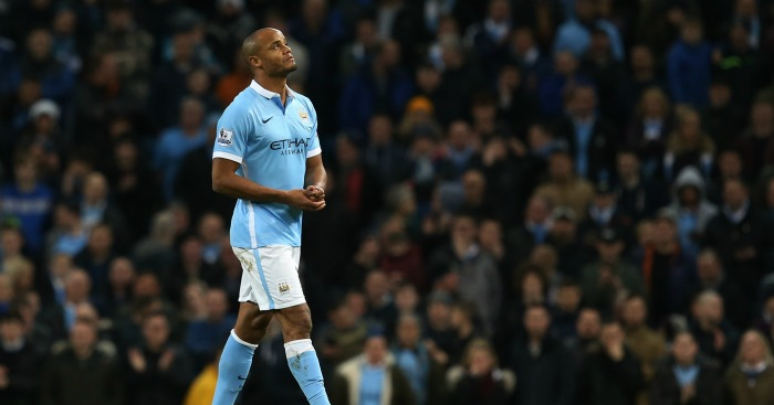 Vincent Kompany: Expected to miss Man City's game against PSG
