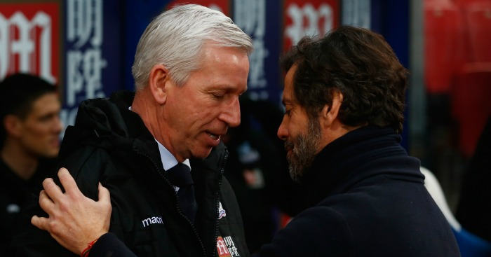 Alan Pardew: Determined his team will fight