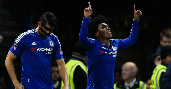 Willian: Helped Chelsea to 5-1 FA Cup win over Manchester City