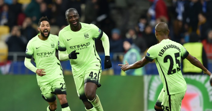 Yaya Toure: Midfielder impressed with goal in Kiev