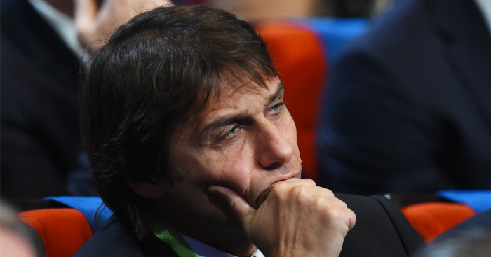 Antonio Conte: No comment on Chelsea job