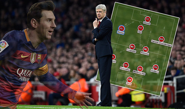 Arsenal: Host Barcelona on Tuesday night